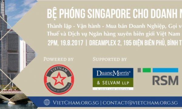 Bệ phóng Singapore cho Doanh nghiệp Việt