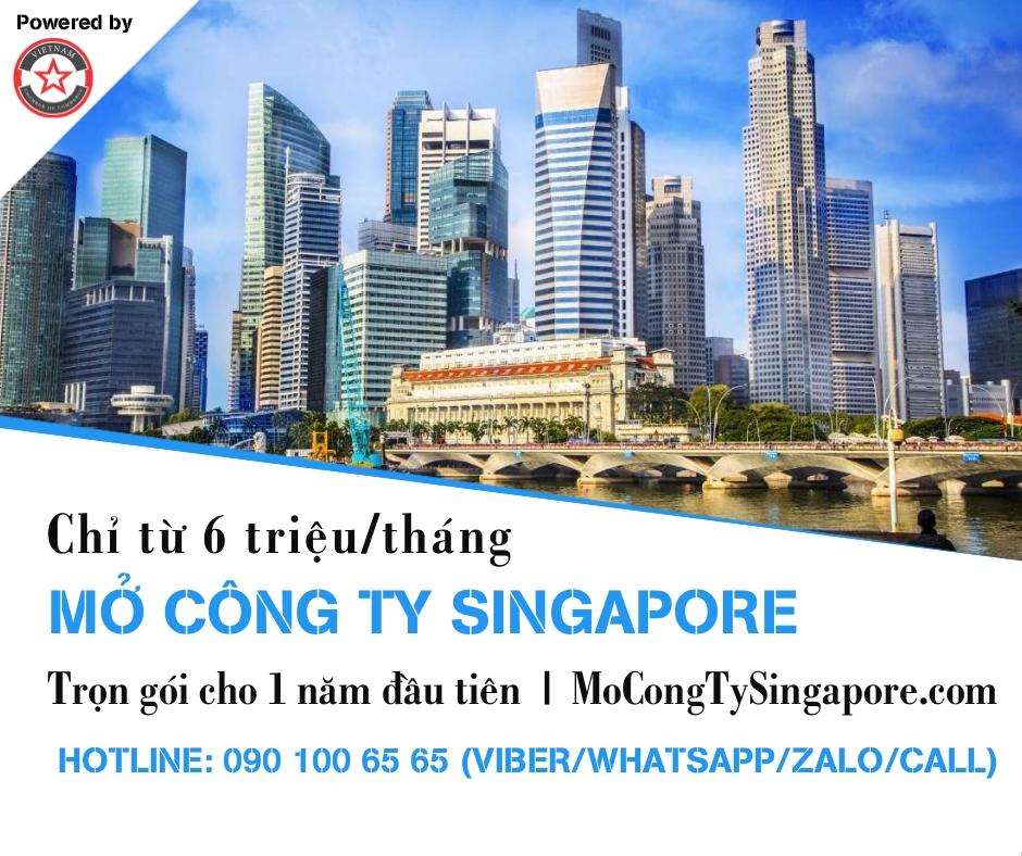 Dịch vụ mở công ty Singapore