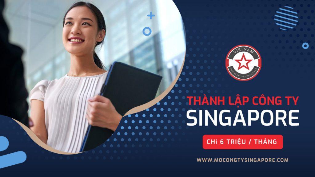 Thành lập công ty tại Singapore