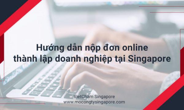 Hướng dẫn nộp đơn đăng ký Online thành lập công ty tại Singapore