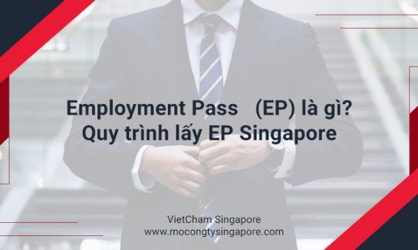 Employment Pass (EP) là gì? Hướng dẫn lấy EP Singapore