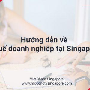 Thuế doanh nghiệp ở Singapore